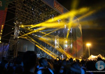 Foto dell'uscita BSIDE all'HOME FESTIVAL 2015